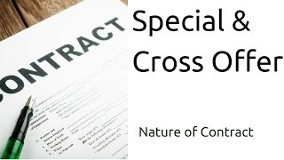 Special and Cross Offer