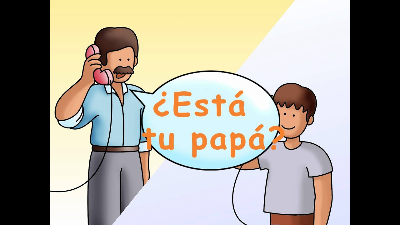 Answering the phone in spanish contestar el telfono calico answering the phone in spanish contestar el telfono calico spanish songs for kids youtube m4hsunfo
