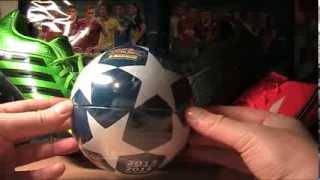 CHAMPIONS LEAGUE 2013/14 - KUUUUULA - UNBOXING