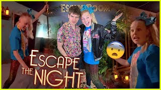 TRAPPED IN JOEY GRACEFFA'S ESCAPE ROOM!!!