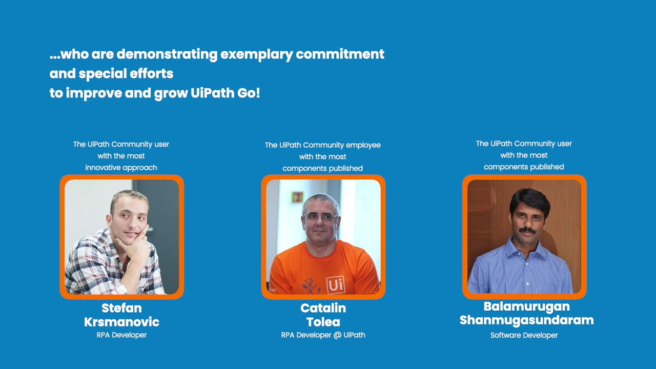 UiPath Go! - A Year in Review (2018)