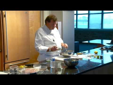 Michael Kornick at Kendall College Culinary School