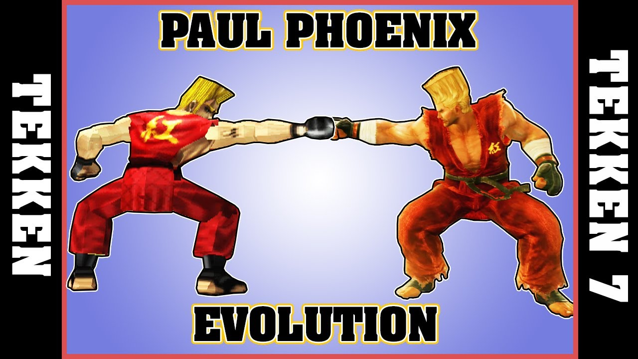 Paul phoenix evolution tekken tekken 7 youtube - Phenix evolution tarif ...
