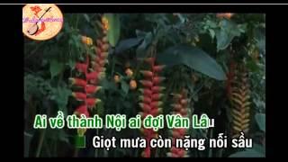 karaoke MUA TREN PHO HUE song ca HH