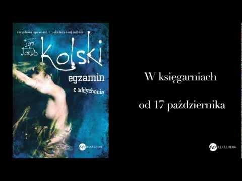 """Jan Jakub Kolski """"Egzamin z oddychania"""" - seks, prawda, zmyślenie i kara w nowej powieści from YouTube · Duration:  50 seconds"""