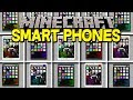 Minecraft SMARTPHONES MOD! | IPHONES THAT MAKE YOU INVINCIBLE, & MORE! | Modded Mini-Game
