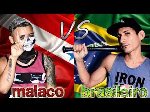 GIRIAS DE MALACO VS BRASILEIRA  FT- SUCURI TUBE