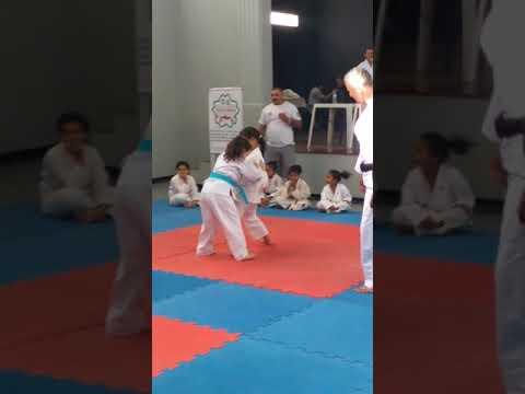 Yasmim Silva Mirandola Judoca Em Ação