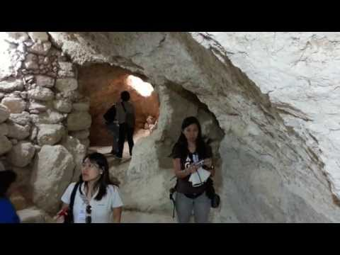 Excavations of 4th, 5th, 6th Century Byzantine Church and Monastery-Video 4-In A Cave