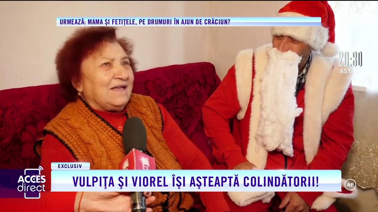 Crăciun de poveste pentru Vulpița și Viorel! Soții Stegaru împodobesc bradul