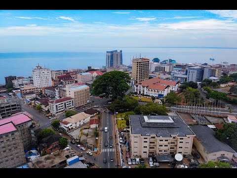 Freetown from above vlog