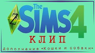 The Sims 4: кошки и собаки | клип | Улыбнись ))))
