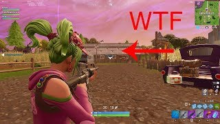 'Invisibe Glitch' avec Zoey Skin! [Fortnite Battle Royal]