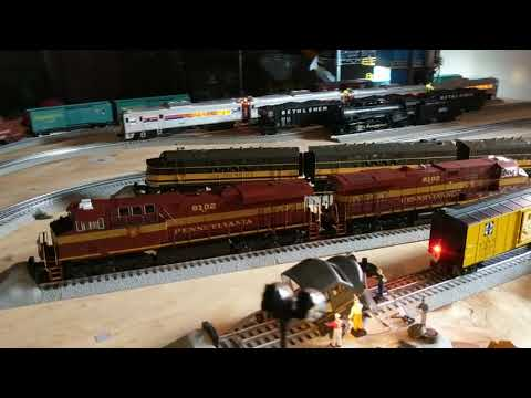 Adam's O gauge layout update #4