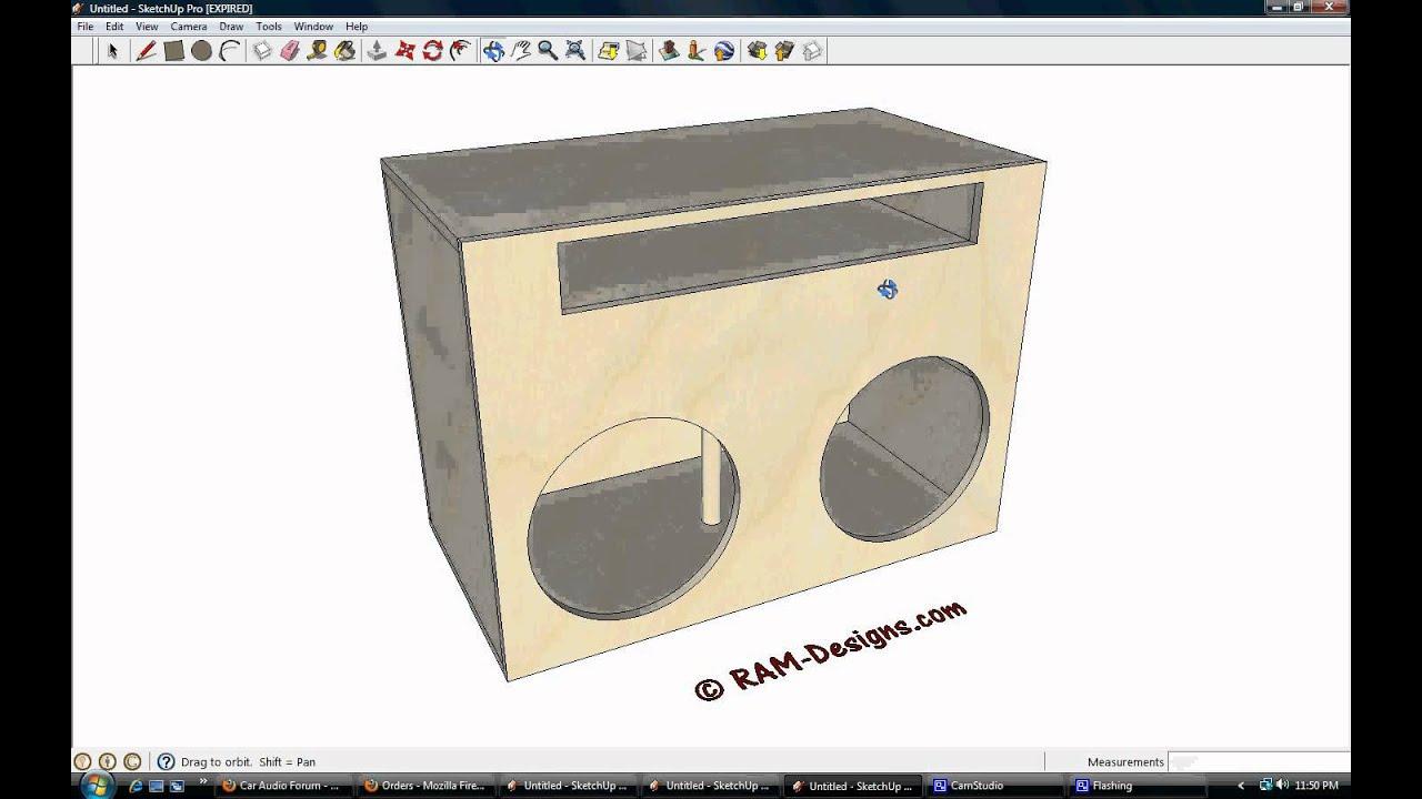 10 kicker cvr ported box design  10  free engine image for