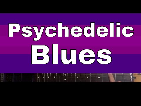 Psychedelic Blues Guitar Lesson |