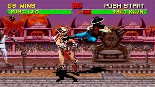 [TAS] Mortal Kombat 2 - Kung Lao (PS2)