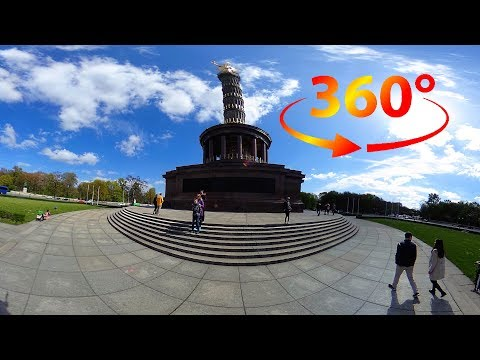 360 / VR Tour (No Comments) of Berlin Victory Column - Siegessäule - Berlin, Germany