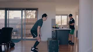 HOME PERSONAL TRAINING with Get Going PT
