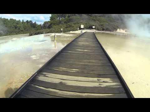 Short Trip to Wai-O-Tapu Geothermal Wonderland in Rotorua New Zealnd
