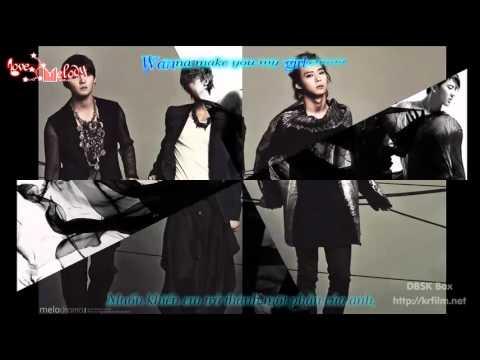 [Lyrics + Vietsub] Be my girl - JYJ The Beginning [LovemelodyST @ KST]