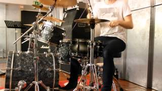 Disco Ensemble - We Might Fall Apart (Drum Cover)