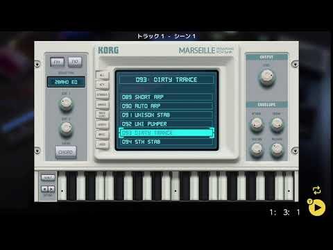 画像2: 04 02 メロディの音を決める バレッドプレス KORG Gadget for Nintendo Switch講座 www.youtube.com