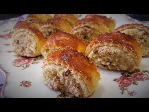 ГАТА- слоеное печенье с грецкими орехами -Ани Кухня!