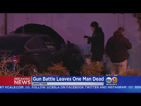 Shootout Outside Whittier Bar Leaves Man Dead, 2 Hurt