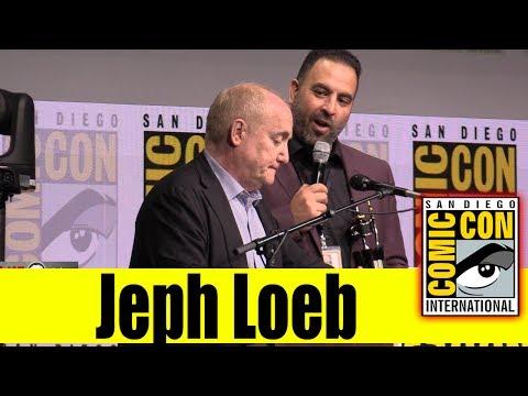 MARVEL TV's Jeph Loeb Received Inkpot Award | Comic Con 2017