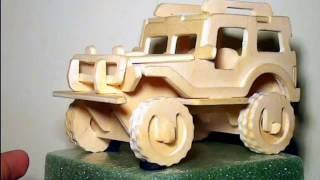 "Lets Put It Together- Episode 6 3d Car Puzzle ""jeep""(by Ransmo5)"