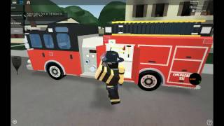 Washing the truck... BAM! FIRE! | Roblox Fire Simulations