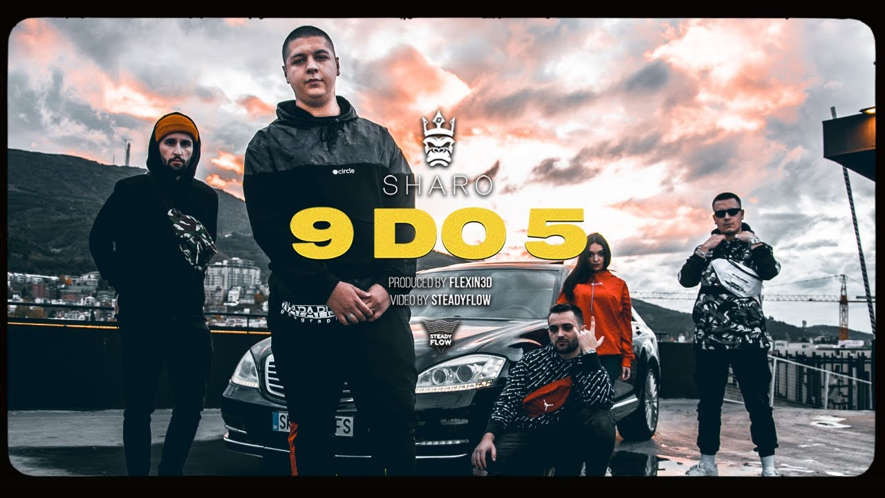 Download SHARO - 9 DO 5 (Official video) Prod.by Flexin3D