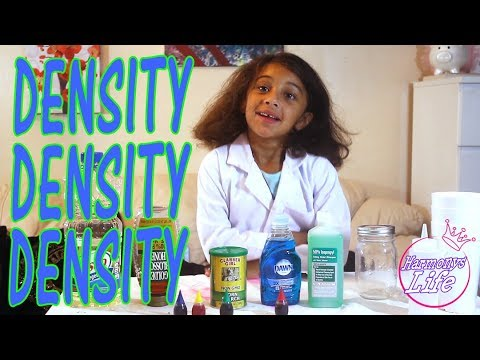 fun-experiments-for-kids---diy-science-projects-to-try-when-you're-bored-|-density-with-harmony