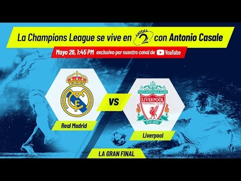 Real Madrid vs Liverpool | Final de la Champions League EN VIVO
