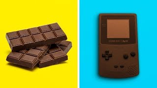 16 AMAZING CHOCOLATE CRAFTS