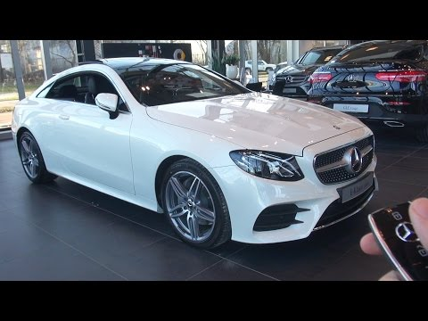 2017 Mercedes E Class Coupe Full Review 2018 Interior Exterior Infotainment System E200 AMG package