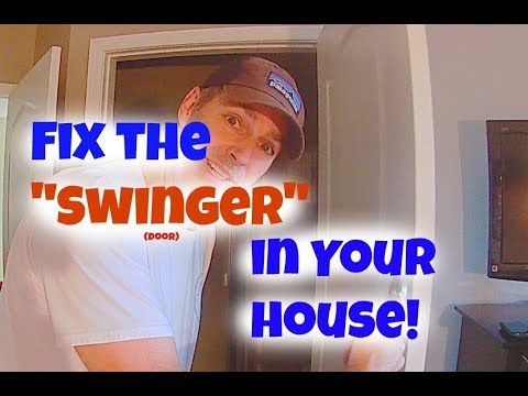 """""""Swinger"""" Door Fix!! Fixing a door that won't stay open!из YouTube · Длительность: 2 мин19 с"""