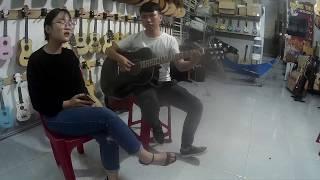 Guitar Acoustic Cover Hỏi Thăm Nhau l   Lê Bảo Bình Cover By  Quỳnh Như l  365 Day Monster