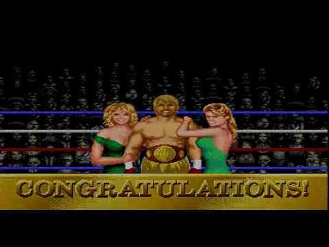 "Evander Holyfield's""'Real Deal"" Boxing Sega Megadrive TAS"