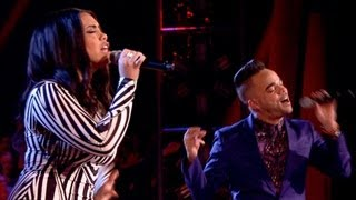 The Voice UK 2013 | Nate James Vs Lovelle Hill - Battle Rounds 2 - BBC One
