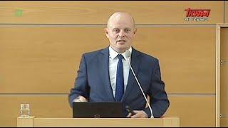 Konferencja naukowa w WSKSiM - wystąpienie prof. dr. hab. Pawła Piątkiewicza