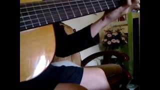Yeu thuong mong manh guitar solo