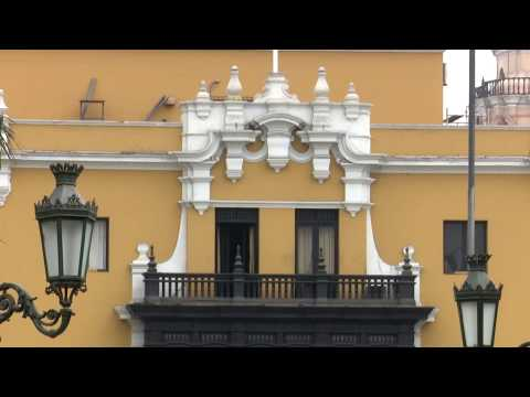 Balconies Of Lima Are A Point Of Pride For Peru
