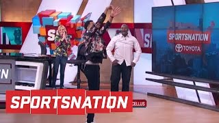 Cj mccollum goes one-on-one with marcellus wiley | sportsnation | espn
