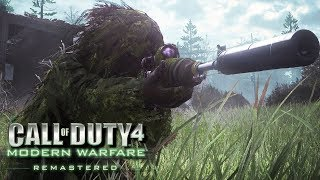 Call of Duty: Modern Warfare Remastered Gameplay PC - Sniper Stealth Mission