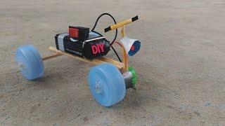 Cara  Membuat Sepeda Motor Mainan dari Tutup Botol Plastik yang ada diRumah | DIY Homemade | Mudah