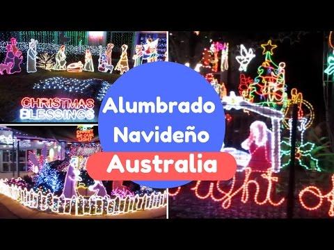 Vamos a ver las luces de NAVIDAD | Acá en Australia