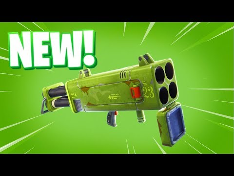 *NEW* QUAD ROCKET LAUNCHER IN FORTNITE COMING SOON! (NEW Rocket Launcher Gameplay!)