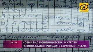 Эпистолярное мошенничество: жителям Гомеля приходят странные письма